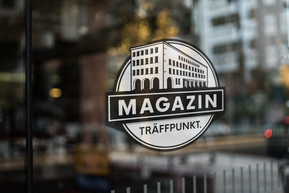 Magazin Traffpunkt logo in situtation
